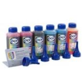 Чернила OCP водорастворимые, 100мл, 6 цветов, для 6 цветных принтеров\мфу Эпсон