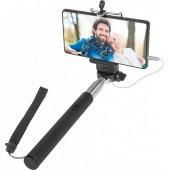 Defender Selfie Master <SM-02 чёрный> Селфи-монопод телескопический для смартфонов <29402>