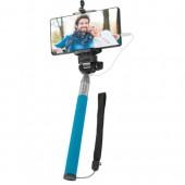 Defender Selfie Master <SM-02 голубой> Селфи-монопод телескопический для смартфонов <29404>