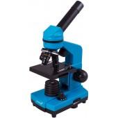 (RU) Микроскоп Levenhuk Rainbow 2L PLUS Azure\Лазурь