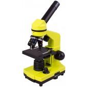 (RU) Микроскоп Levenhuk Rainbow 2L PLUS Lime\Лайм