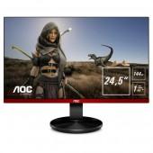 """24.5"""" AOC G2590FX Black-Red (16:9, 1920x1080, TN+Film, 144 Гц, G-Sync, FreeSync, динамики, интерфейсы HDMI+D-Sub (VGA)+DisplayPort)"""