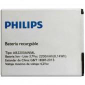 Аккумулятор (батарея) AB2200AWML для Philips T3500, W3500