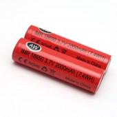 Аккумулятор 18650 2000мАч 3.7V 7.4Wh SZNS, без защиты, 1 штука