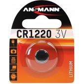 Батарейка (элемент питания) Ansmann 5020062 CR1220 BL1, 1 штука