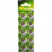 Батарейка (элемент питания) GP Alkaline cell 186-C10 AG12 BL10, 1 штука