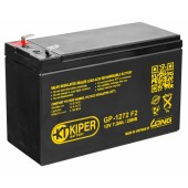 Аккумуляторная батарея Kiper GP-1272 F2 12V, 7.2Ah