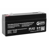 Аккумуляторная батарея Kiper GP-633 6V/3.3Ah