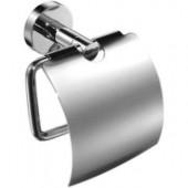 Держатель туалетной бумаги URBAN 2 98652 (c крышкой, цвет хром, комплект креплений)