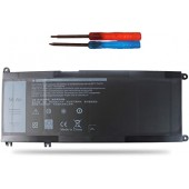 Аккумулятор (акб, батарея) 33YDH для ноутбукa Dell Inspiron 17 7778 15.2 В, 3400 мАч (оригинал)