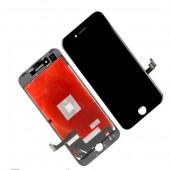 LCD дисплей для Apple iPhone 7 с рамкой крепления, (оригинал, переклей) черный