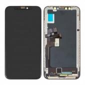 LCD дисплей для Apple iPhone X с тачскрином, (Оригинал, переклей) черный