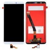 LCD дисплей для Huawei P Smart, Psmart, Enjoy 7S (FIG-LX1) с тачскрином (белый) Оригинал-переклей