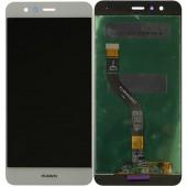 LCD дисплей для Huawei P10 Lite (WAS-LX1) с тачскрином (белый) Оригинал-переклей