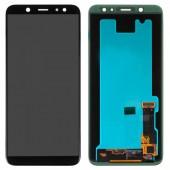 LCD дисплей для Samsung A6 2018 A600 Черный в сборе (Оригинал)