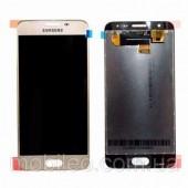LCD дисплей для Samsung G570F (J5 Prime) Золотой в сборе (Оригинал)
