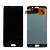 LCD дисплей для Samsung Galaxy A5 2016 (A510F) Черный в сборе (Оригинал, переклей)