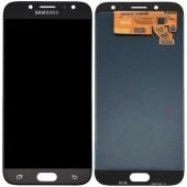 LCD дисплей для Samsung Galaxy J7 2015 (J700F) Черный в сборе (Оригинал, переклей) в раме