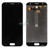 LCD дисплей для Samsung Galaxy Note 8 (N950F) Черный в сборе (Оригинал, переклей) Blue