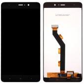 LCD дисплей для Xiaomi Mi5S, Mi 5S с тачскрином (черный) Оригинал-переклей