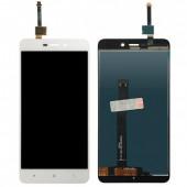 LCD дисплей для Xiaomi Redmi 4A с тачскрином (белый) Оригинал-переклей