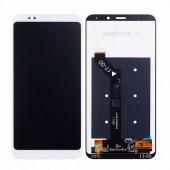 LCD дисплей для Xiaomi Redmi 5 в сборе с тачскрином, белый (Оригинал-переклей)