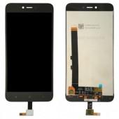 LCD дисплей для Xiaomi Redmi 5A, Redmi Go в сборе с тачскрином, черный Оригинал-переклей