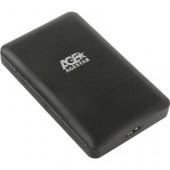 "External case for HDD 2,5'' AgeStar 3UBCP3-Black (EXT BOX для внешнего подключения 2.5"" SATA HDD, USB3.0)"