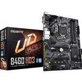 Материнская плата GigaByte B460 HD3, LGA1200, ATX