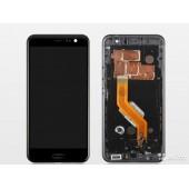 Модуль (матрица и тачскрин в сборе) для HTC U11 (черный) Оригинал