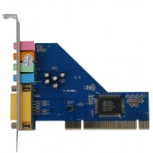 Звуковая карта C-media 8738 4.0 channel CMI8738-SX, PCI