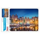 Коврик для компьютерной мыши Buro BU-M10034 рисунок/амстердам