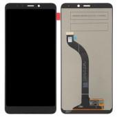 LCD дисплей для Xiaomi Redmi 7 с тачскрином (черный) Оригинал-переклей