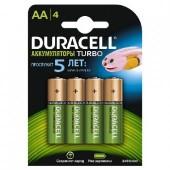 Аккумулятор Duracell HR6 АА 2500мАч BL4, 1 штука