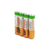 Батарейка (элемент питания) GP Super GP24ARS-2SB4 LR03 SR4, 1 штука