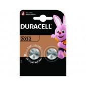 Батарейка (элемент питания) Duracell CR2032 BL2, 1 штука
