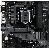 AsRock H370M Pro4 mATX LGA1151v2 (4xDDR4/HDMI, DVI, VGA/RAID 0, 1, 5/M2)
