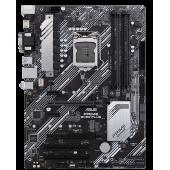 ASUS Prime B460-Plus, ATX, Intel LGA1200, Intel B460, 4xDDR4, 2xPCIe x16, 2xPCIe x1, 2xPCI, 2xM.2