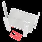 Интернет-центр Keenetic Runner 4G KN-2210 (802.11n, 2.4 ГГц, до 300 Mbps, 802.1X, 3x100Mbit LAN, 1xWAN)