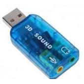 Звуковая карта USB TRUA3D (C-Media CM108)