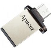 Apacer AH175 AP16GAH175B-1 USB2.0/USB micro-B OTG Flash Drive 16Gb (RTL)