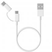 Xiaomi Mi 2-in-1 USB Cable Micro USB to Type C (100cm) SJV4082TY (SJX02ZM)