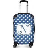 Ninetygo Palka dots Luggage 20' Blue