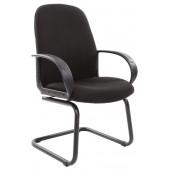 <1176929> Офисное кресло Chairman 279V JP15-2 чёрный (на полозьях)