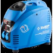 ЗУБР Профессионал <ЗИГ-2500> Генератор бензиновый инверторный (2.5 кВт, 220 В ~50 Гц, 12 В, 125 см3, 5.7 л)