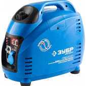 ЗУБР Профессионал <ЗИГ-1200> Генератор бензиновый инверторный (1.2 кВт, 220 В ~50 Гц, 12 В, 72 см3, 3.6 л)