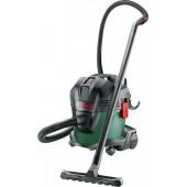 Bosch UniversalVac15 <06033D1100> Пылесос строительный (1000W, сухая/влажная уборка, бак 15 л)