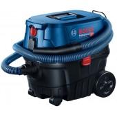 Bosch GAS 12-25 PL <060197C100> Пылесос строительный (1250W, сухая/влажная уборка, бак 25 л)