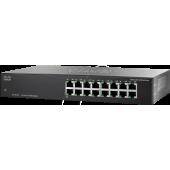 Cisco <SF110-16-EU> 16-port Switch (16UTP 100Mbps)