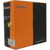 Кабель FTP 4 пары кат.5e <бухта 100м> Exegate <EX281812RUS>